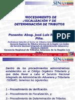 Fiscalización y Determinación Tributaria
