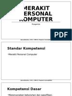 Merakit Personal Komputer