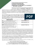 Nota de Prensa Referendo Consultivo