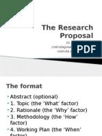 4.Res. Proposal.gosa Pptx