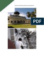 Foto Pembangunan Mesjid Nurussalam Bambong