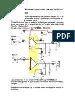 Amplificadores con TDA2004, TDA2005 y TDA2009.doc