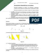 Homotecia Teoria y Practica
