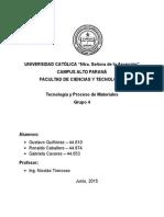 Tec. y Pro. de Mat. - Grupo 4