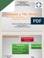 Disfasia y TEL Mixto