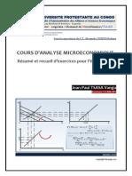 Polycopie de Microeconomie