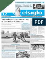 Edición Impresa El Siglo 17-11-2015