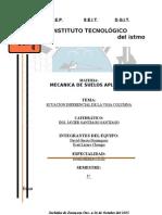 Mecanica de Materiales Reporte