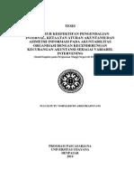 Pengaruh Keefektifan Pengendalian Internal, Ketaatan Aturan Akuntansi Dan Asimetri Informasi Pada Akuntabilitas Organisasi Dengan Kecenderungan Kecurangan Akuntansi Sebagai Variabel Intervening