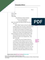 annotated bib sample