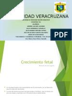 Crecimiento y Desarrollo Prenatal y Del Recién Nacido