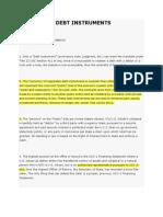 Negotiable Debt Instruments[1] (1)