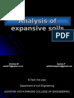 Analysis of Expansive Soils