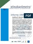 Informe Latinobarómetro 1995-2015 sobre Democracia