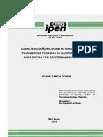 """CARACTERIZAÇÃO MICROESTRUTURAL, MECÂNICA E TRATAMENTOS TÉRMICOS DE MATERIAL COMPÓSITO AI/SIC OBTIDO POR CONFORMAÇÃO POR """"SPRAY"""""""