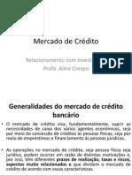 Aula 5 - Mercado de Crédito