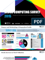 2015 IDG Enterprise Cloud Computing Survey