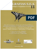 Atlas Mariposas Peninsula Ibérica Vol.11