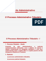Direito Administrativo III-O Processo Administrativo Tributário.doc