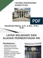 Praktek Mahkamah Konstitusi Pertemuan 2