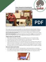 Drwg & Comm Perspective Handout