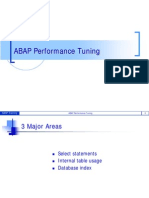 ABAP Performance Tuning343411326097630