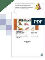 Formacion y Contaminacion Por Nitrosaminas