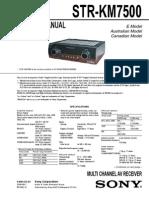STR-KM7500