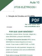 Aula10 - Regime Permanente Senoidal - Ver02