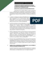 Procedimientos PCM