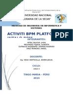 Activiciti Bpm y Intalo Bpm version beta