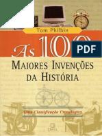 Livro as 100 Maiores Invencoes Historia