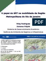 Impactos Da Implantação de Sistemas BRTs