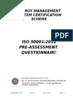 Pre Assessment Questionnaire-Enms