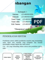 Ppt Kel.1 - Pengembangan Sistem