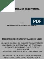 Arquitetura Moderna Brasil