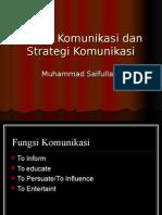Fungsi Komunikasi Dan Strategi
