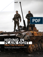 Hiding in Plain Sight - Putins War in Ukraine