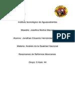 Reformas Mexicanas (Resumen)