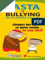 Triptico Bullying