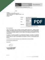 CARTA N°1709-2015- INFORME DE LA COMISION DEL SERVICIO DE LOS ESPECIALISTAS- AGUAYTIA