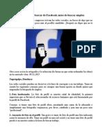 Estas Cosas Que Debes Borrar de Facebook Antes de Buscar Empleo