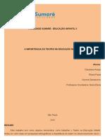 Trabalho Portifolio Educação Infantil Corrigido - Cópia