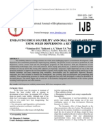 ENHANCING DRUG SOLUBILITY AND ORAL BIOAVAILABILITY USING SOLID DISPERSION.pdf