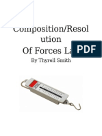 Composition-Resolution of Forces Lab