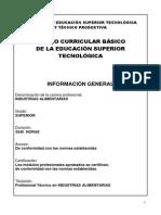 industrias alimentarias -DCB