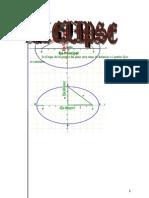 Matematicas Ejercicios Resueltos Soluciones La Elipse 4º ESO Opcion Ciencias Puras Opcion B