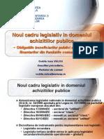 Codrin_Vulcu-Noul Cadru Legislativ in Domeniul Achizitiilor Publice