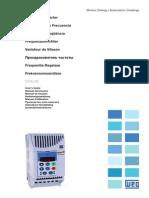 CFW-08 - Manual Del Usuario - Convertidor de Frecuencia