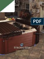 2016 Strong Spas Comprehensive Brochure